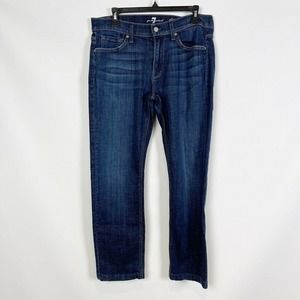 7 For All Mankind Mens Slimmy Jeans Sz 32 X 28